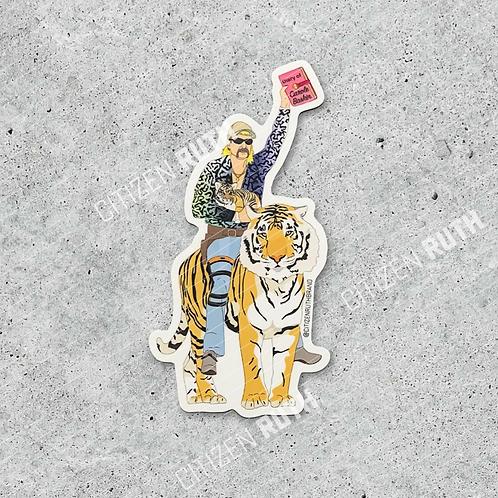 Tiger King Sticker