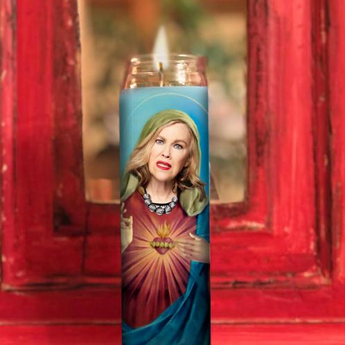 Moira Rose Prayer candle