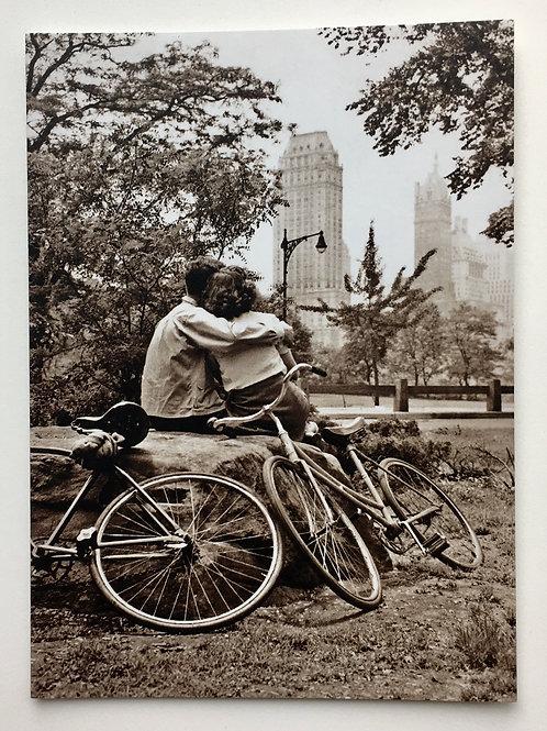 Anniversary Card - Couple on Bikes
