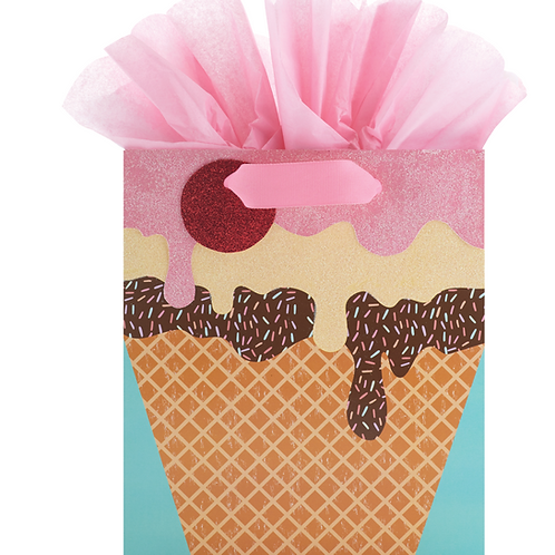 Ice Cream Dreams Medium Gift Bag