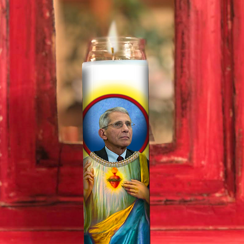 Dr Anthony Fauci Prayer Candle