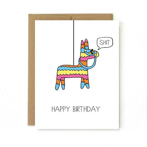 Birthday Card- Pinata