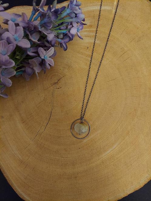 Celeste Rutilated Quartz Necklace