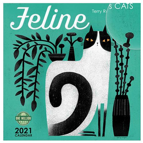 Feline 2021 Wall Calendar
