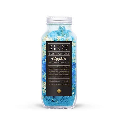 Sapphire Fizzy Bath Salts