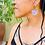 Thumbnail: Mod Glitter Earrings