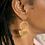 Thumbnail: Double Half Moon Earrings