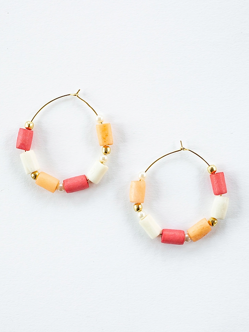 Emily Hoop Earrings