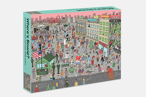 Where's Bowie? 500 pc Puzzle: Berlin