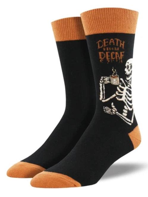 Death Before Decaf Socks - Mens