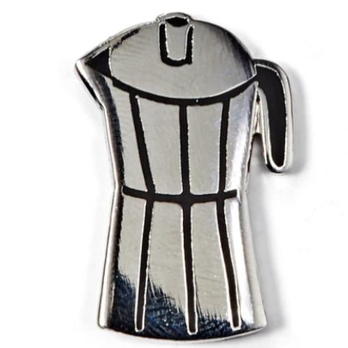 Coffee Pot Enamel Pin