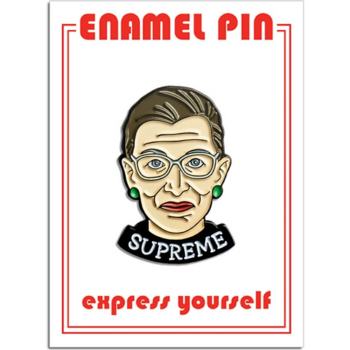 RBG Supreme Enamel Pin
