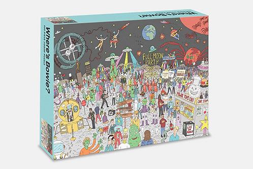 Where's Bowie? 500 pc Puzzle: Space
