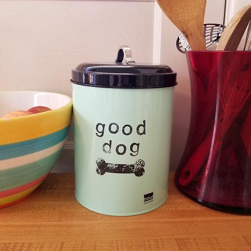 Good Dog Treat Tin