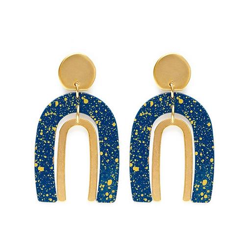 Arch In The Starry Night Earrings