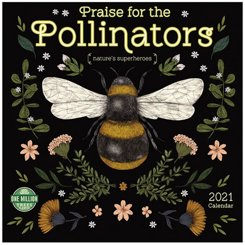 Praise for the Pollinators 2021 Wall Calendar