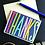 Thumbnail: Colorful Thanks Card