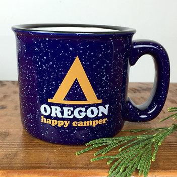 Oregon Happy Camper Mug