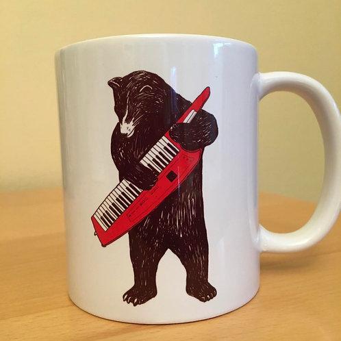 Bear Keytar Mug