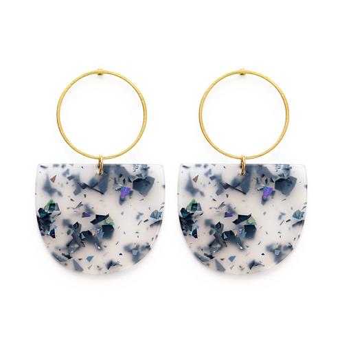 Mod Glitter Earrings
