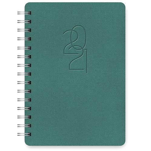 Hunter Green 2021 Agatha Planner (17 month)