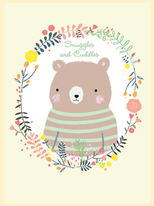New Baby Card - Bear