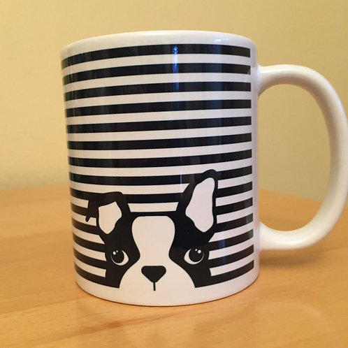 Dog  Stripes Mug