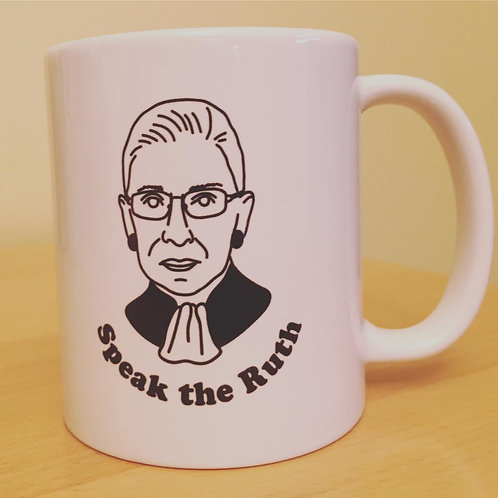 Speak the Ruth RBG Mug