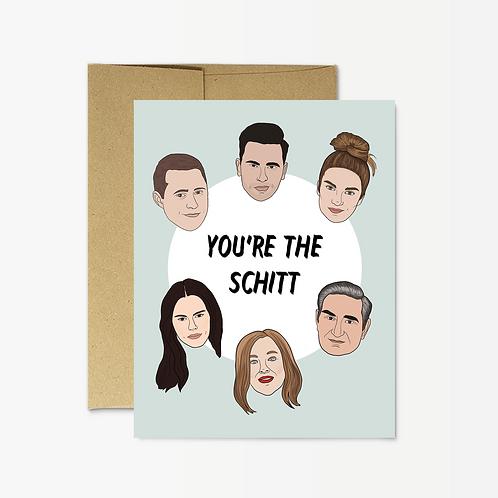 You're The Schitt Card