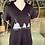 Thumbnail: Moon Over Three Graces Women's V Neck T-Shirt