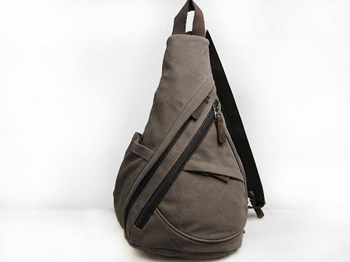 Multifunctional Canvas Sling Bag