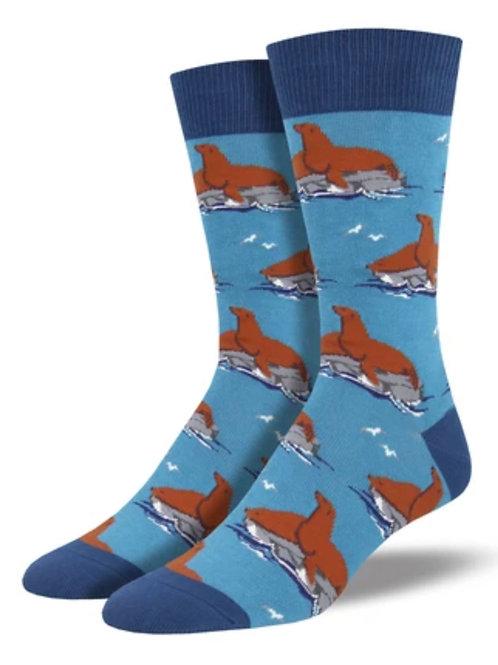 Sea Lion Socks - Mens