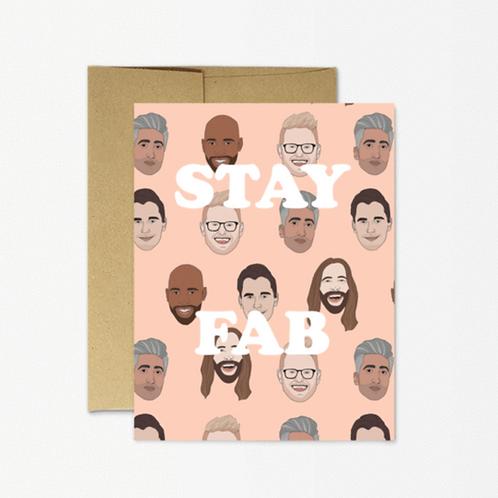 Stay Fab Card