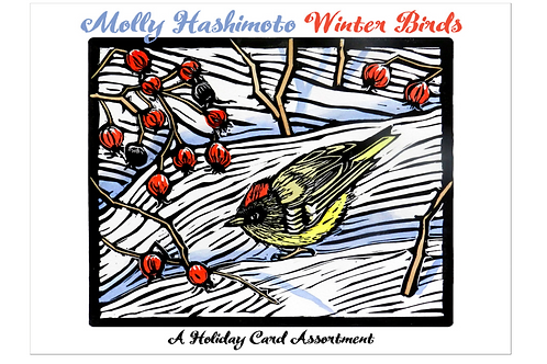 Molly Hashimoto Winter Cards Boxed