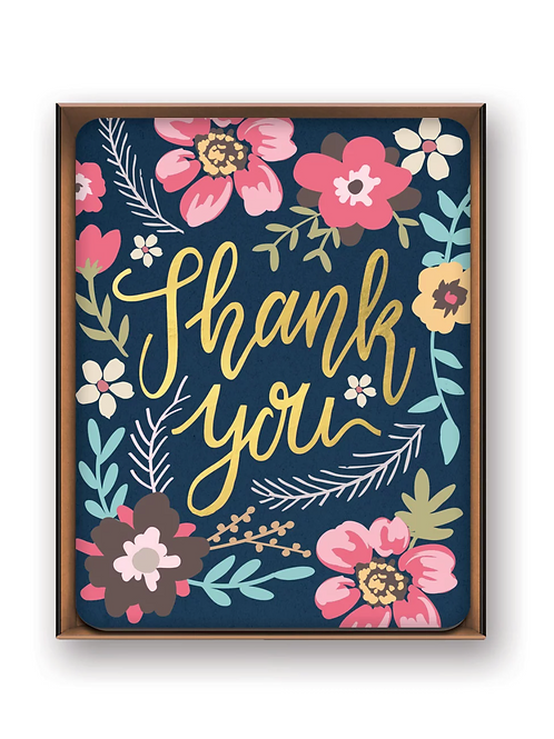 Note Card Set: Midnight Garden Thank You