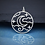 Thumbnail: Openwork Night Sky Pendant Necklace
