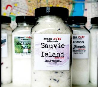 Sauvie Island Bath Salts