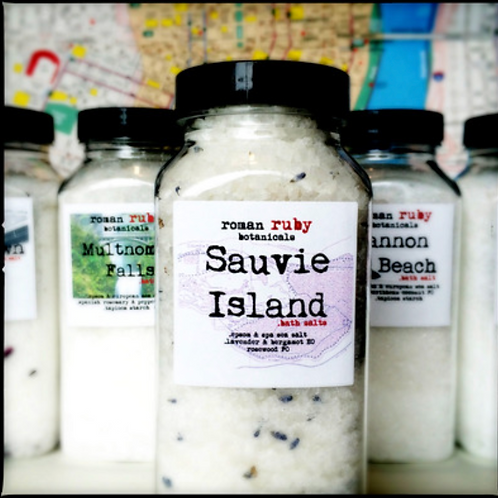 Sauvie Island Bath Salts