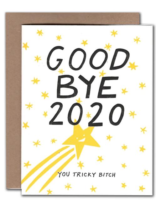 Goodbye 2020 New Year Card