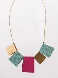 Patina Bib Necklace