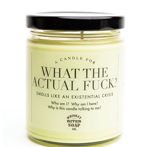 """What The Actual F*ck"" Candle"
