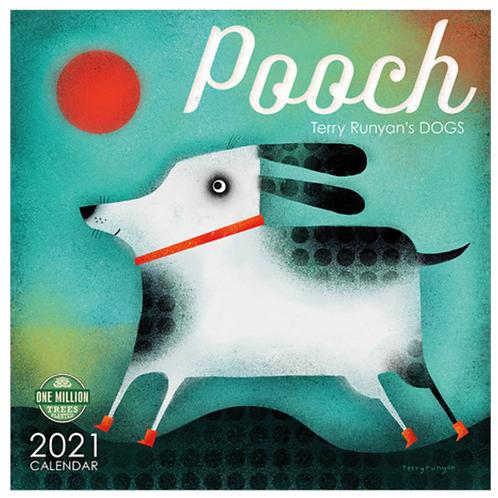 Pooch 2021 Wall Calendar