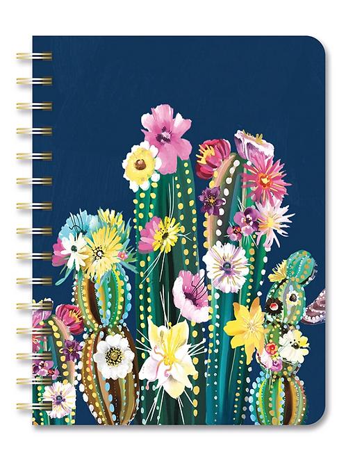 Desert Blossoms 2021 Compact Flexi Planner (17 month)