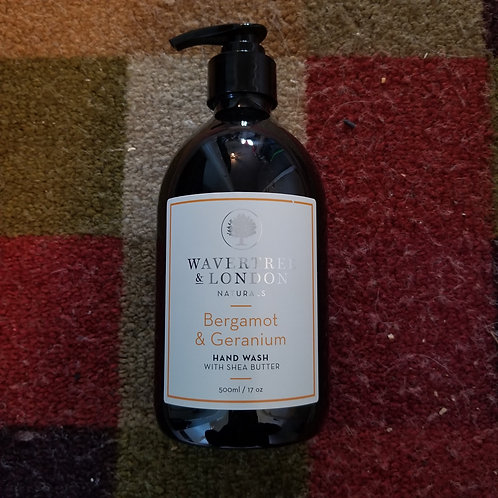 Wavertree & London  Bergamont & Geranium Hand Soap