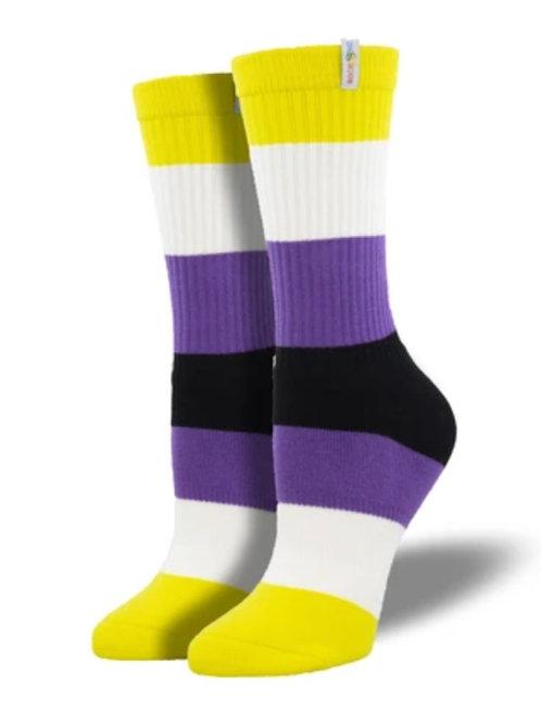 Non Binary Pride Socks