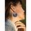 Thumbnail: Lapis Lazuli Gem Stone Hoops