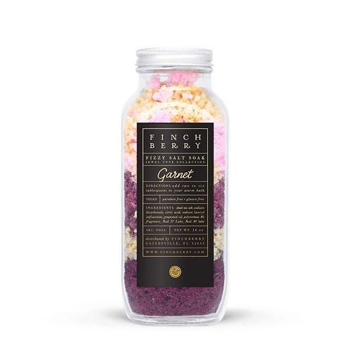 Garnet Fizzy Bath Salt