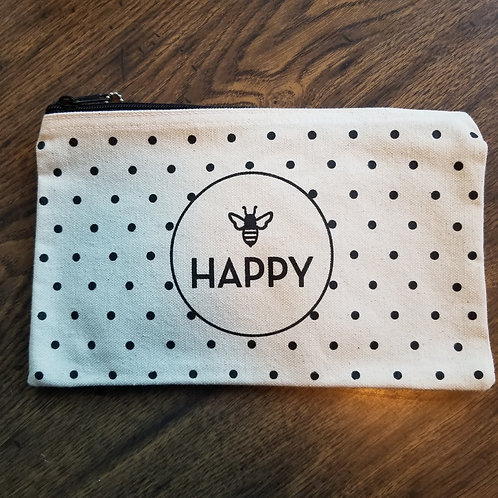 Bee Happy Pouch