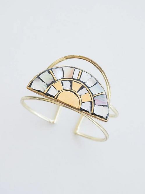 Mosaic Rays Cuff