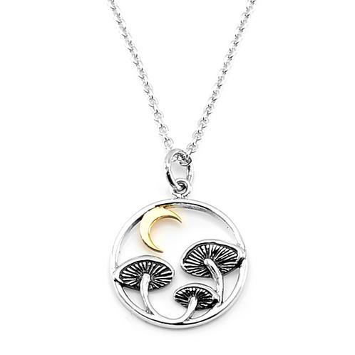 Mushrrom Charm Necklace